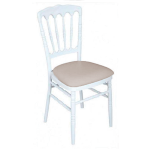 location chaise napoleon beige