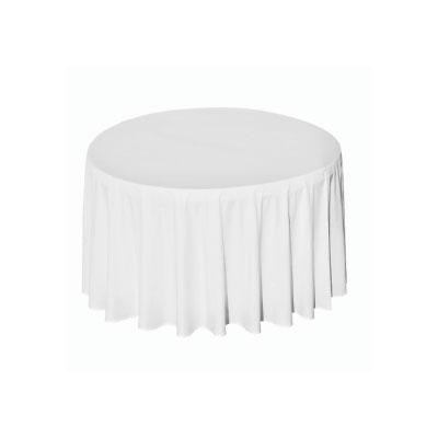 location nappe de table ronde coton