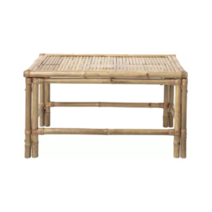 location table basse bambou